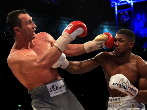 Anthony Joshua vs Wladimir Klitschko II tipped for October 28 in Cardiff