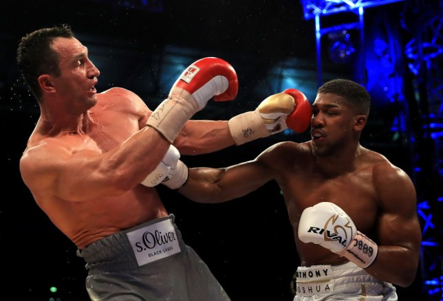 4a66505a6 Anthony Joshua is awaiting Wladimir Klitschko's decision (Picture: Getty)