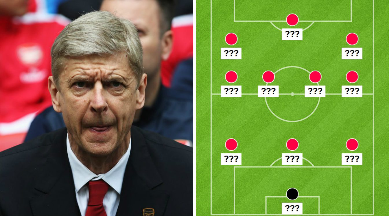 Arsenal line up options for FA Cup semi-final v Manchester City: Is 3-4-3 worth the risk for Arsene Wenger?