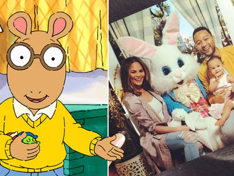 Arthur just called out John Legend's Easter jumper choices to wife Chrissy Teigen's 'shady' delight