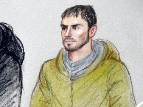 Ferne McCann's ex Arthur Collins on crutches as he appears in court over acid attack