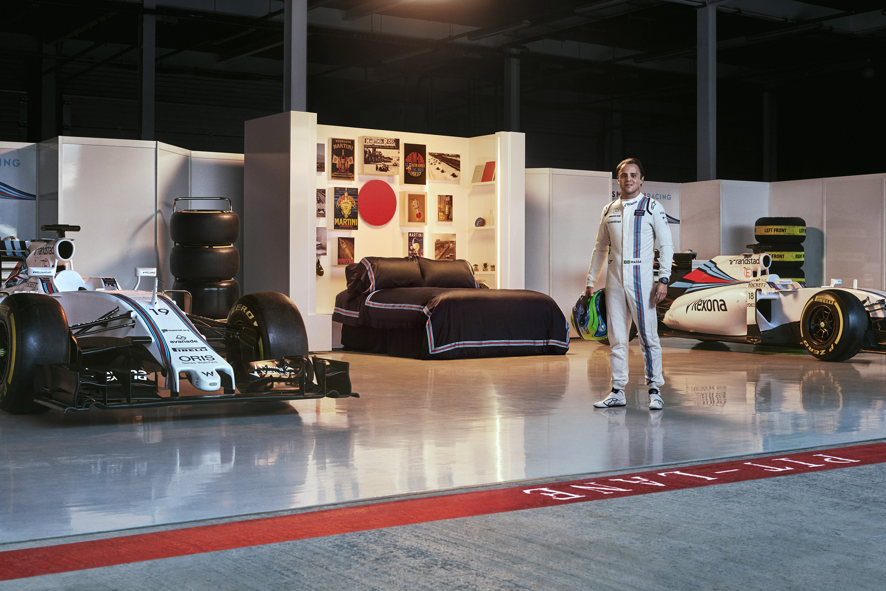 Love F1 cars? Here's how to spend the night at a Silverstone racing garage and meet Felipe Massa