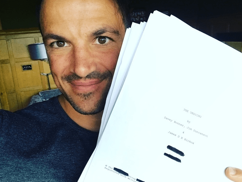 Peter Andre lands first Hollywood movie role in The Undoing and tells fans it's 'a damn big part'