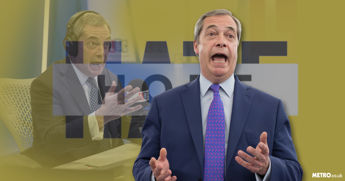 Anti-racism group sue Nigel Farage for up to £100k