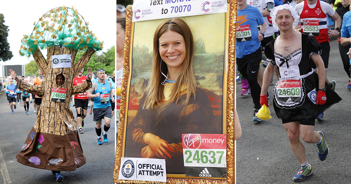 The best (and the most outlandish) costumes at this year's London Marathon