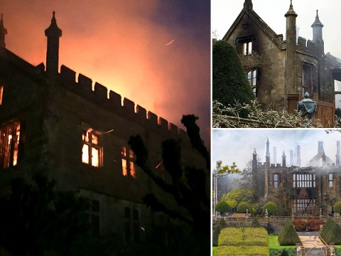 Historic 500-year-old stately home destroyed in 'suspicious' fire overnight