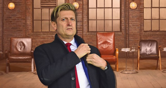 Crystal Palace Chairman Steve Parish has quit Dragons' Den before making a single deal (Picture: Getty Images/BBC)