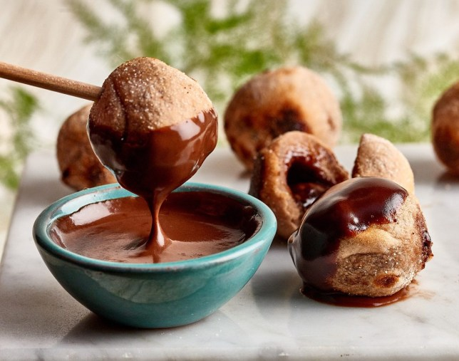chocolate gnocchi