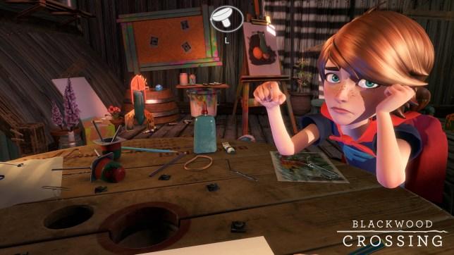 Blackwood Crossing (PS4) - Finn has not had an easy life