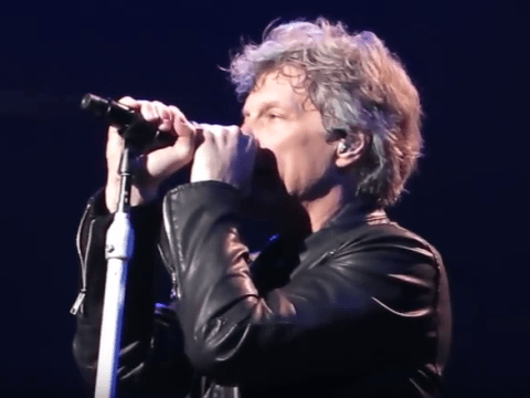 Jon Bon Jovi apologises to crowd after being forced to cut gig short by an hour in Pittsburgh