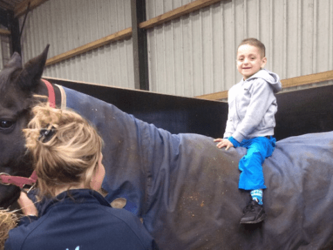 Bradley Lowery attends Grand National a day after receiving sad cancer news