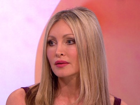 Caprice breaks down on Loose Women as she reveals how brain tumour was found on The Jump