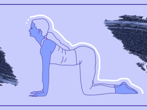 Try this home yoga workout to ease your back pain