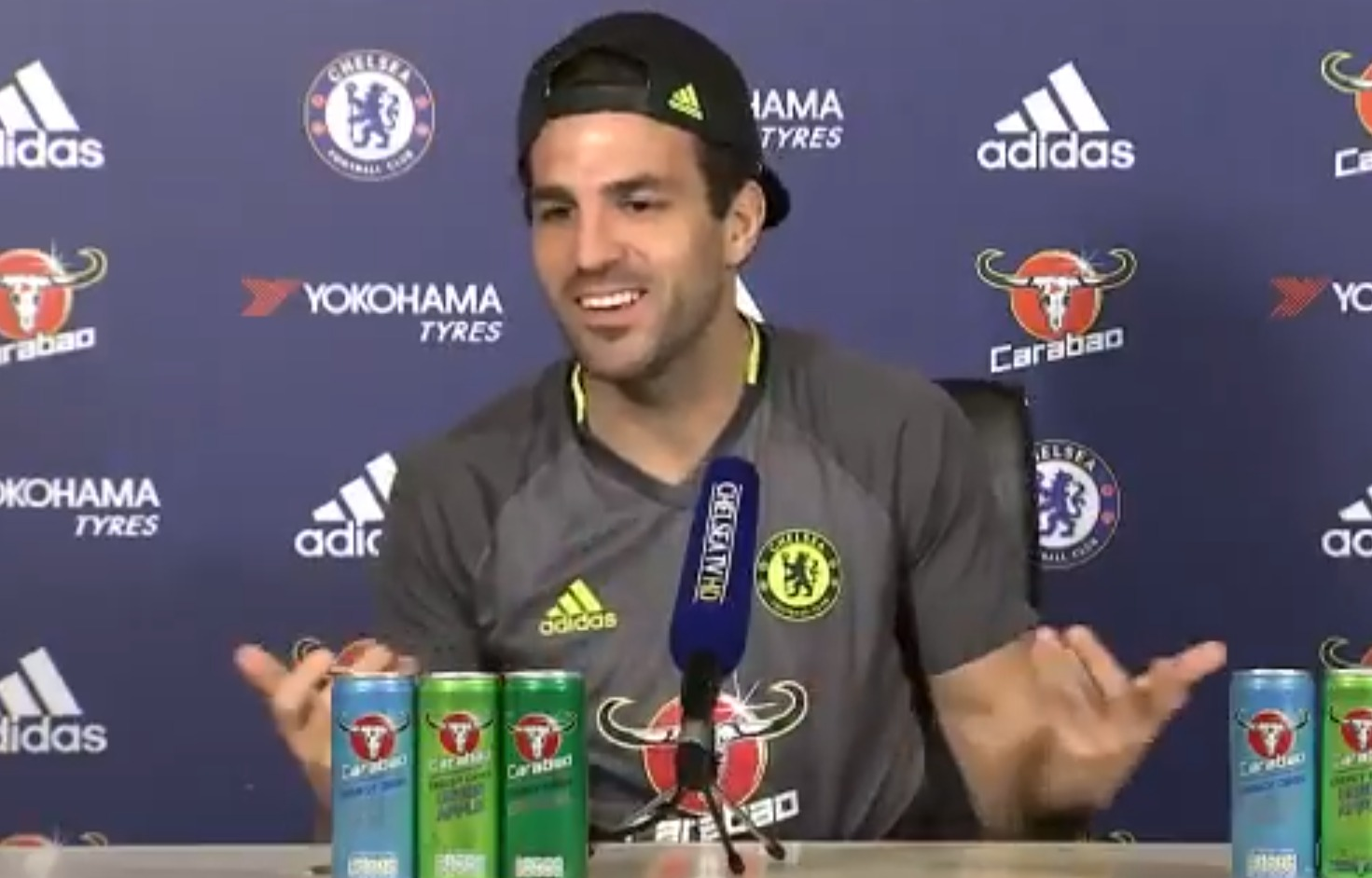 Cesc Fabregas reveals he would love to switch bodies with Arsenal star Theo Walcott