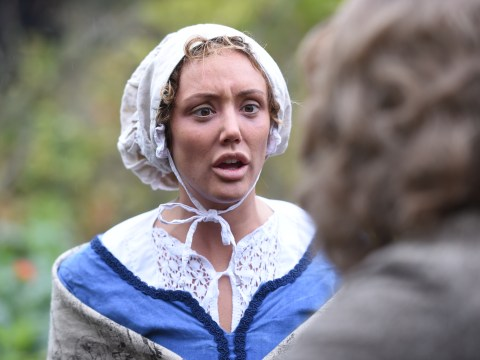 Charlotte Crosby dressed like 'never before' to play Issac Newton's mum in hilarious Drunk History scenes