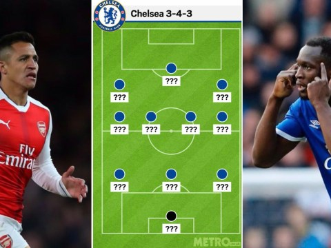How Chelsea could line up with Alexis Sanchez and Romelu Lukaku