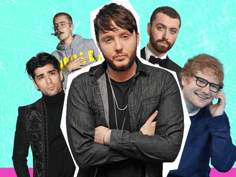 James Arthur takes aim at Ed Sheeran, Zayn Malik and Justin Bieber in unceremonious bashing