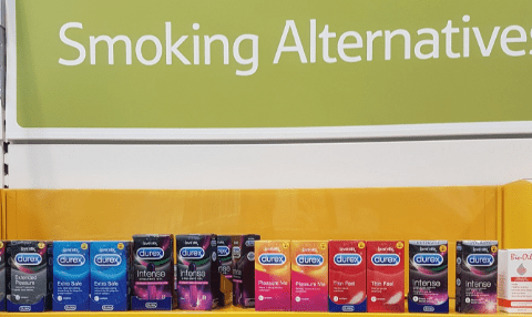Tesco offers questionable alternative for people quitting smoking