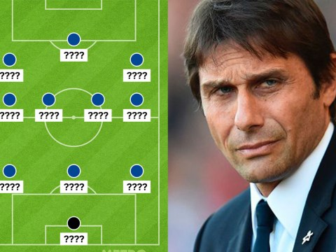 How should Chelsea line-up against Tottenham in the FA Cup semi-final?