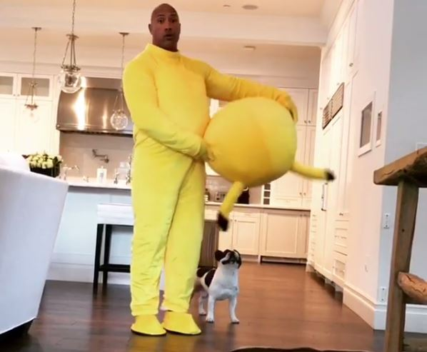 Dwayne Johnson dressed up as his daughter's favourite Pokemon for Easter and it backfired massively