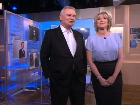 This Morning recreate The Bill as kinky Eamonn Holmes teases Ruth Langsford would 'look good' in police uniform