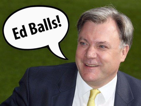 Ed Balls tweeted about Ed Balls Day and it was fabulous