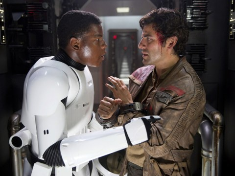 John Boyega gets to keep his blaster from The Last Jedi