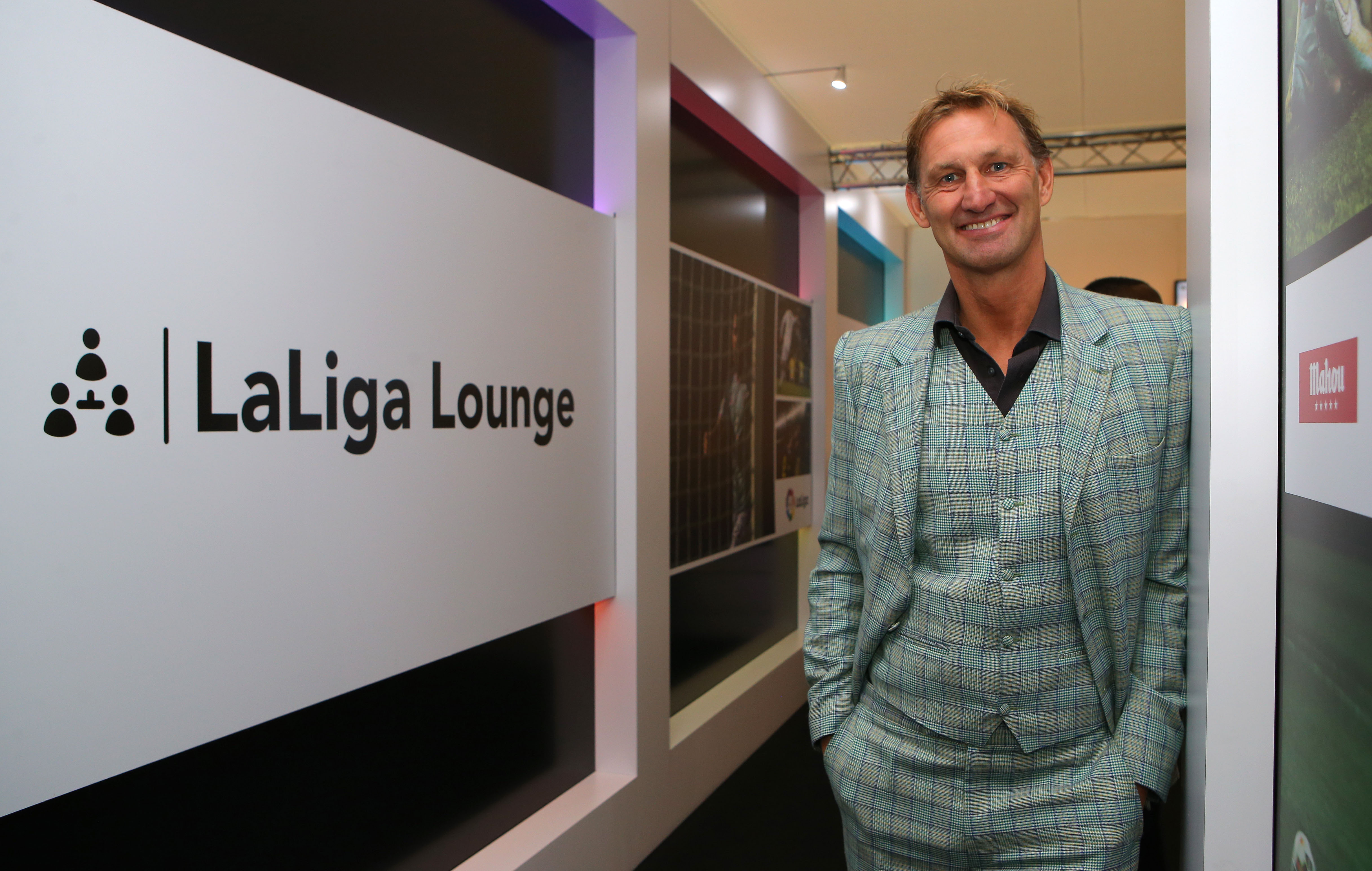 Arsenal legend Tony Adams is back in management but just LOOK at this suit