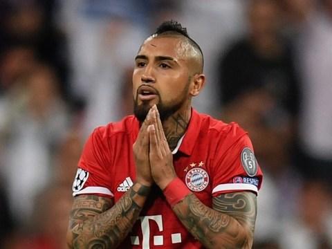 Arturo Vidal slams referee after Bayern Munich 'robbery' in Real Madrid defeat