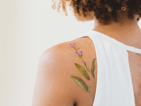 You can now get temporary tattoos that smell like herbs and flowers
