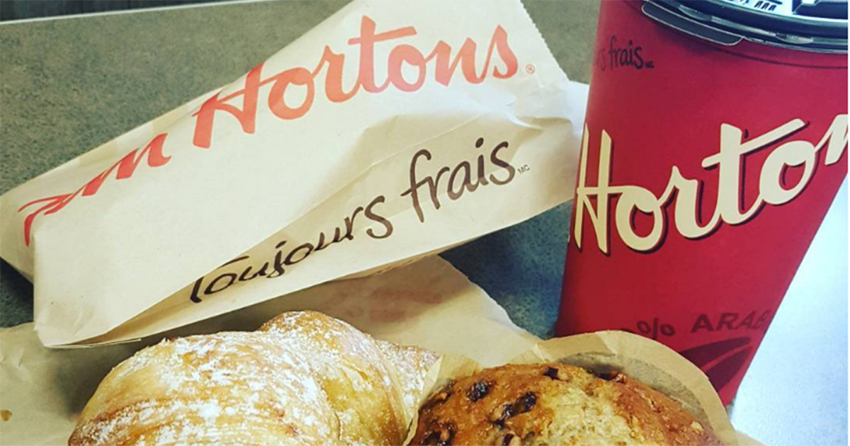 Tim Hortons is now coming to the UK