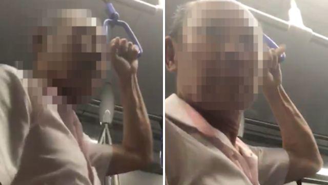 Elderly man tells tourist 'I want you to f**k me' on packed train