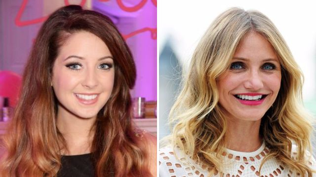 Zoella's intimate Skype session with Cameron Diaz stopped her quitting YouTube during her 'lowest point'