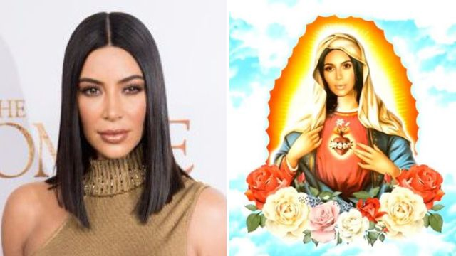 Kim Kardashian angers fans with new kimoji of her as the Virgin Mary just days after saying 'flu was an amazing diet'