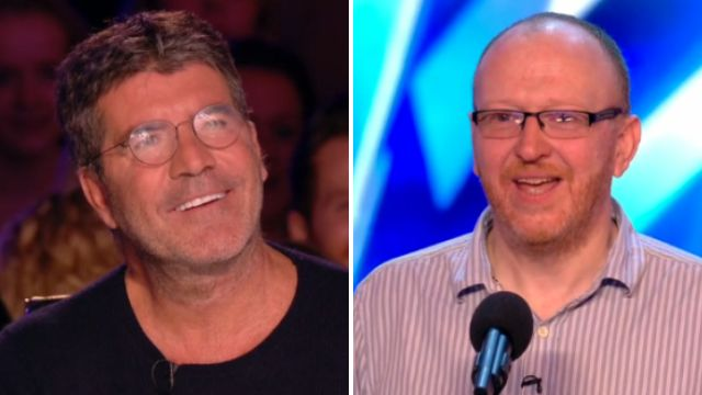 Britain's Got Talent: Simon Cowell meets another Simon Cowell who can balance spoons on his nose