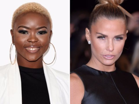 X Factor star Gifty Louise slams Katie Price for saying the N-word on This Morning