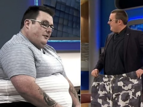 Jeremy Kyle Show guest unveils impressive seven stone weight loss after 12 week boot camp