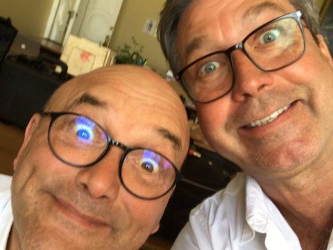 They ARE friends! John Torode and Gregg Wallace defiantly quash feud rumours with goofy selfies