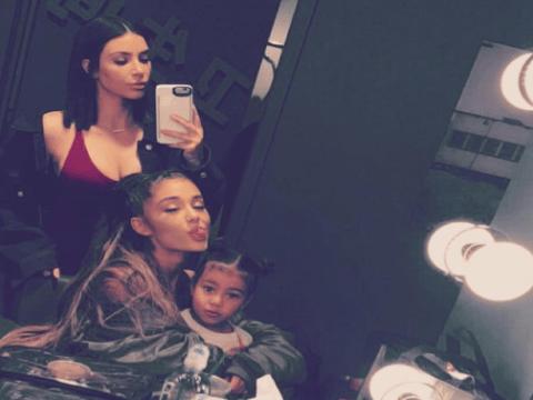 So Ariana Grande and Kim Kardashian West seem to best buddies now