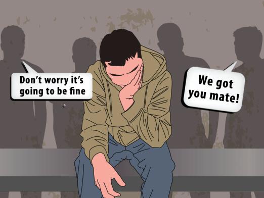 Mental Health Awareness Week: Men talk mental health