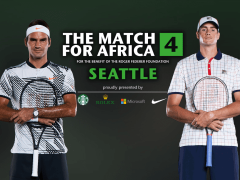 Roger Federer to play alongside Bill Gates in Match For Africa charity game in Seattle