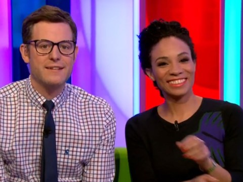 Has The One Show's Matt Baker morphed into Clark Kent? The viewers seem to think so
