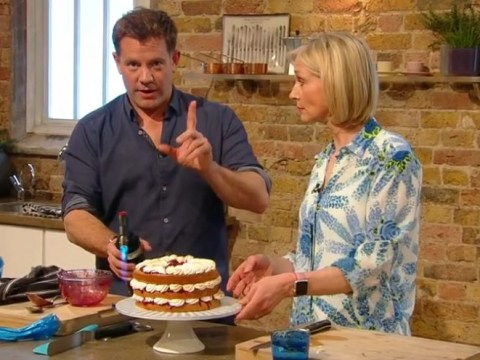 Saturday Kitchen on-air s-bomb forces Matt Tebbut to apologise