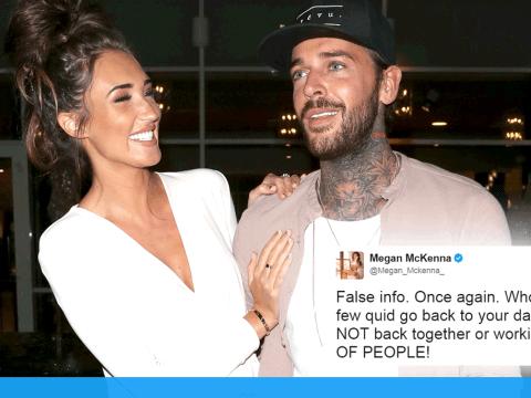 Megan McKenna slams rumours of rekindled relationship with Pete Wicks as 'false info'