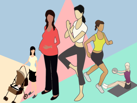 It's perfectly safe to workout when you're pregnant, so let's drop the stigma