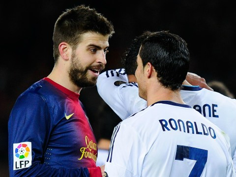 Gerard Pique posts cryptic tweet after Cristiano Ronaldo's offside goal against Bayern Munich