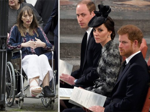 Survivors of the Westminster terror attack reunite for Service of Hope