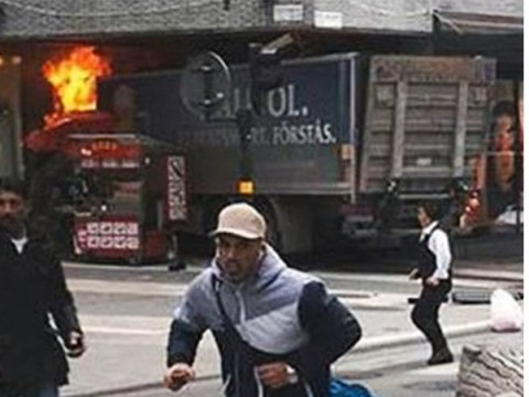 Four dead after lorry crashes into crowds of people in Stockholm terror attack