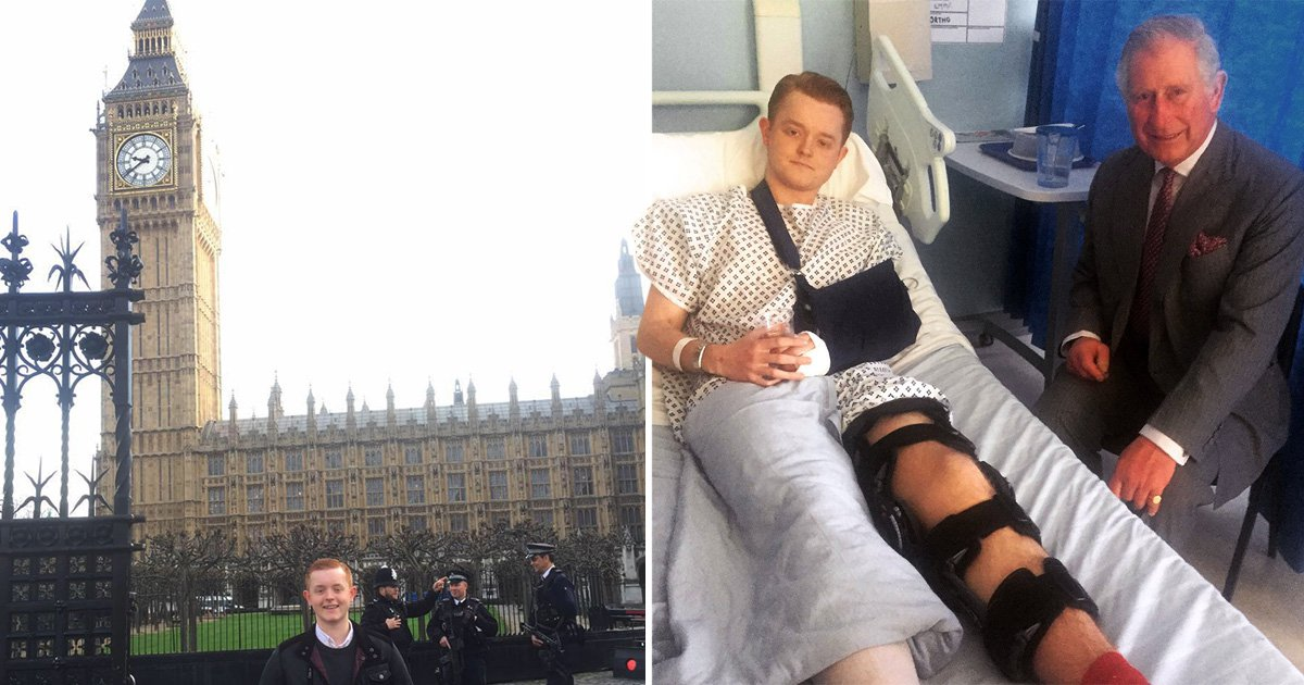 London terror attack victim returns to Westminster bridge for the first time