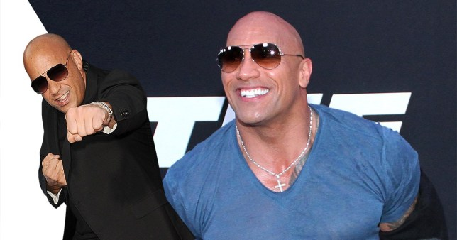 Who would win in a fight between Vin Diesel and The Rock? (Picture: FilmMagic)